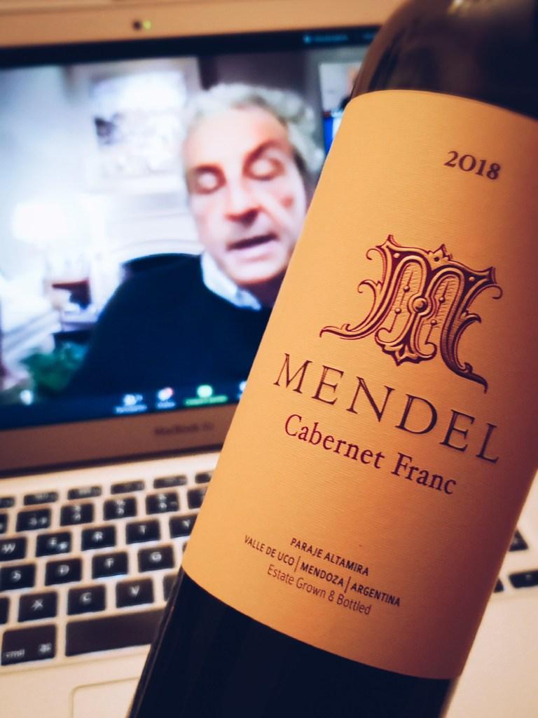 100 días - Mendel Cabernet Franc 2018