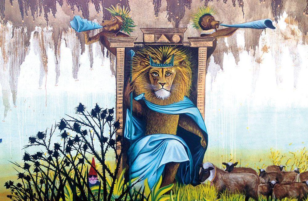 Alejandro Vigil, a sus plantas rendido un león