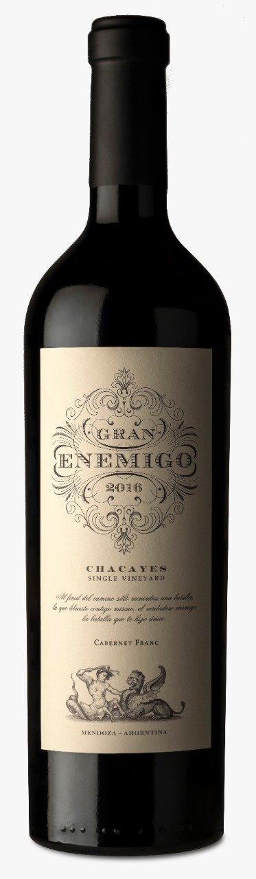 Gran Enemigo Single Vineyard Chacayes Cabernet Franc 2016