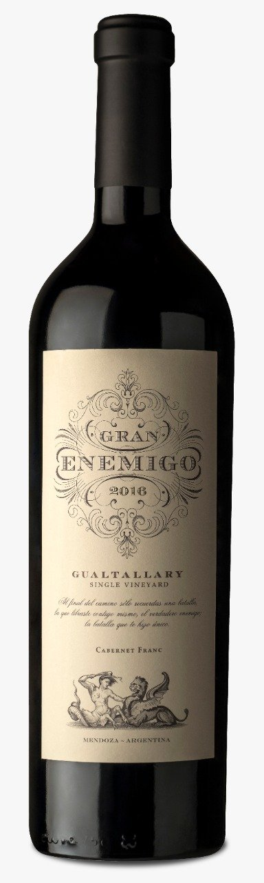 Gran Enemigo Single Vineyard Gualtallary Cabernet Franc 2016