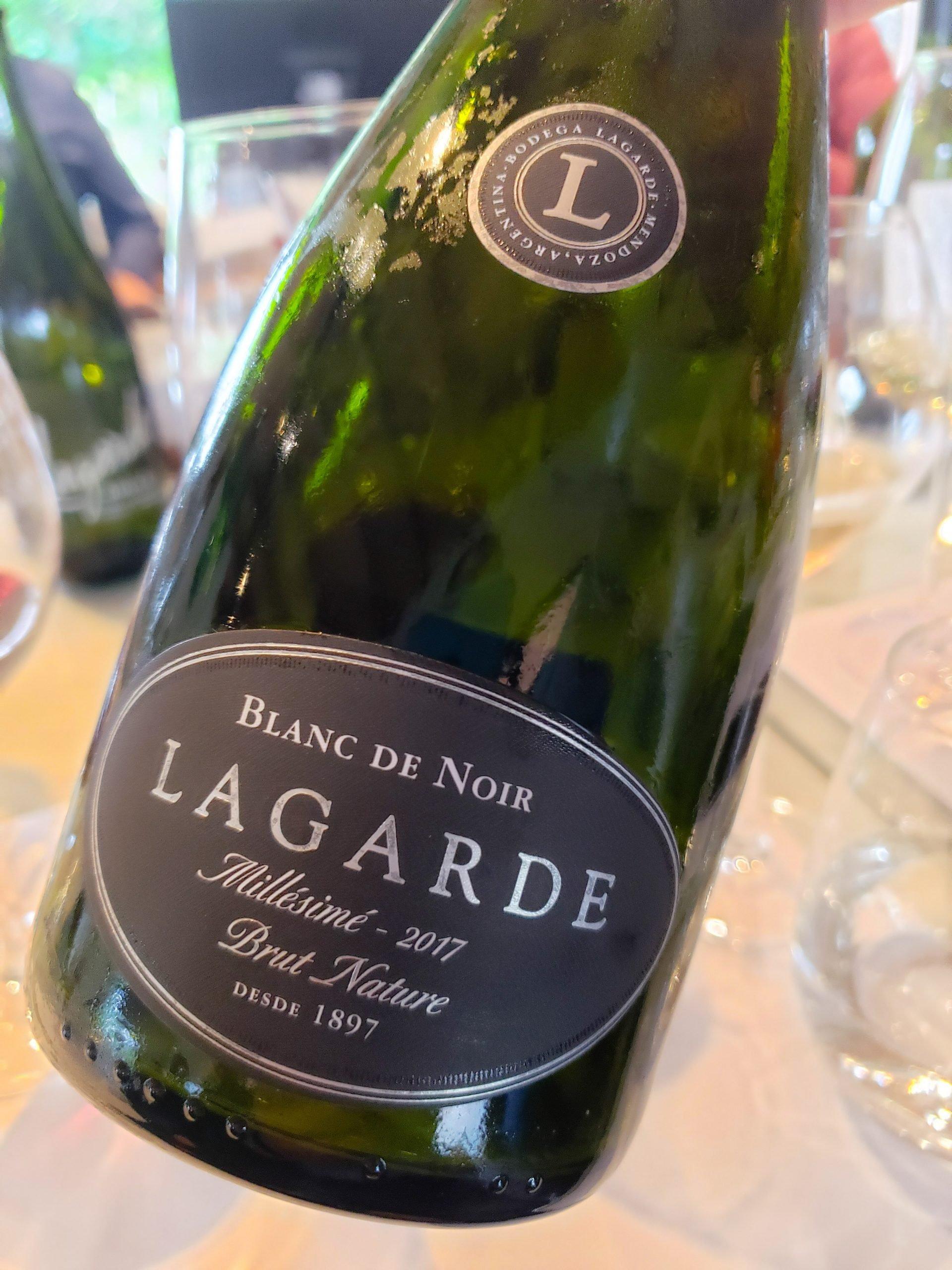 Bodega Lagarde - Blanc de Noir Millesime 2017