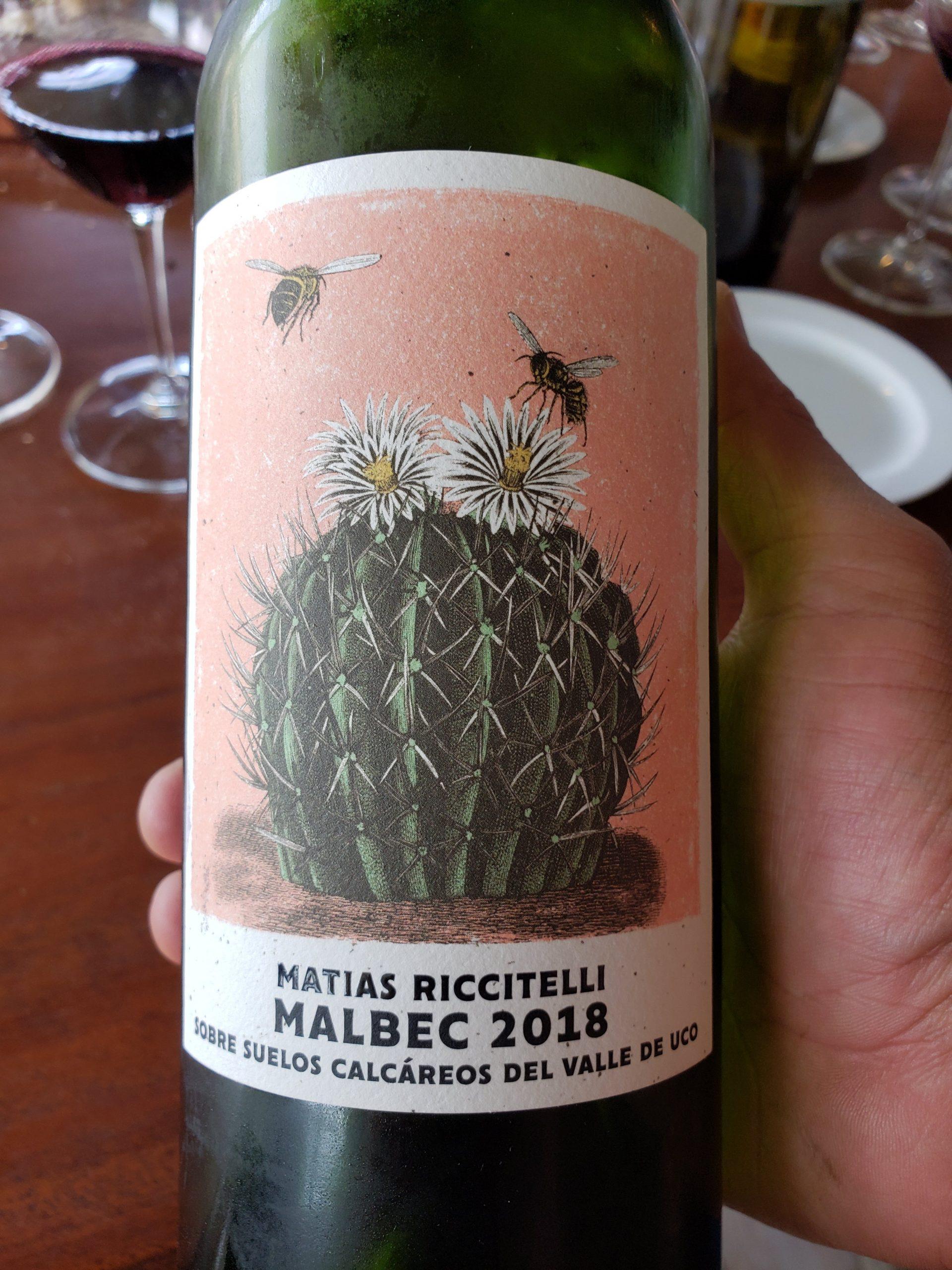 Riccitelli Bistró - Riccitelli Wines - Matías Riccitelli Valle de Uco Malbec 2018