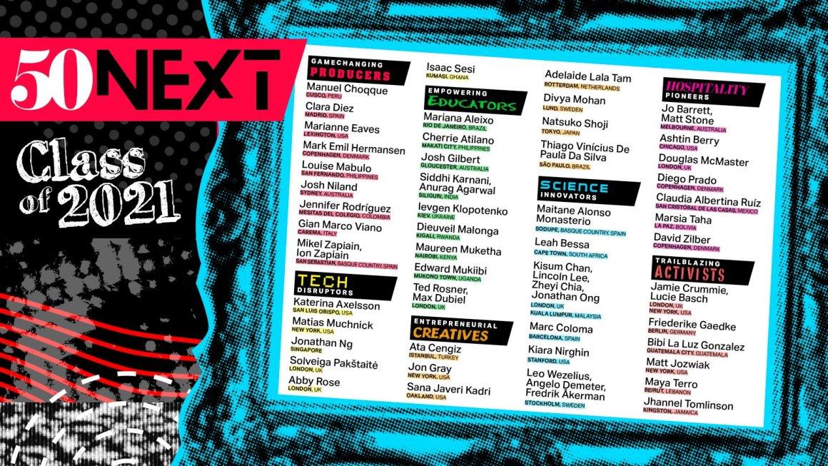 50 Best Restaurants 50 Next