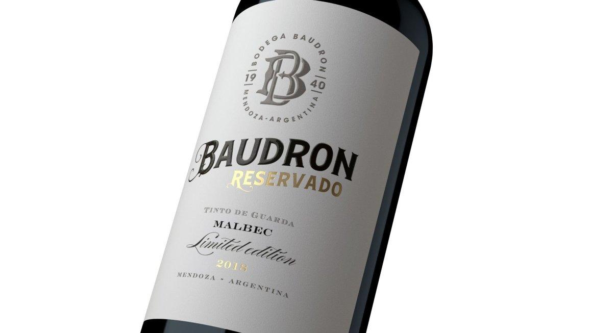 Bodegas Baudron Malbec 2017 Reservado