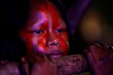 Crianças Indígenas Foto: Lucivaldo Sena