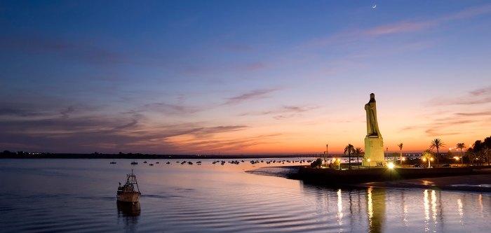 Huelva y sus atardeceres
