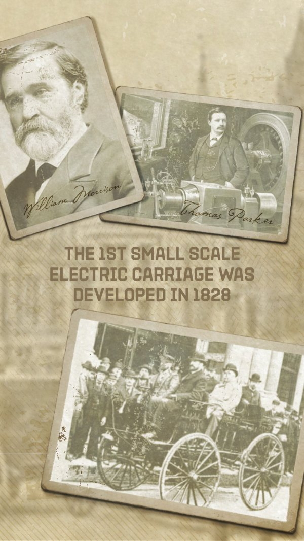 Looking back at early battery/electric cars