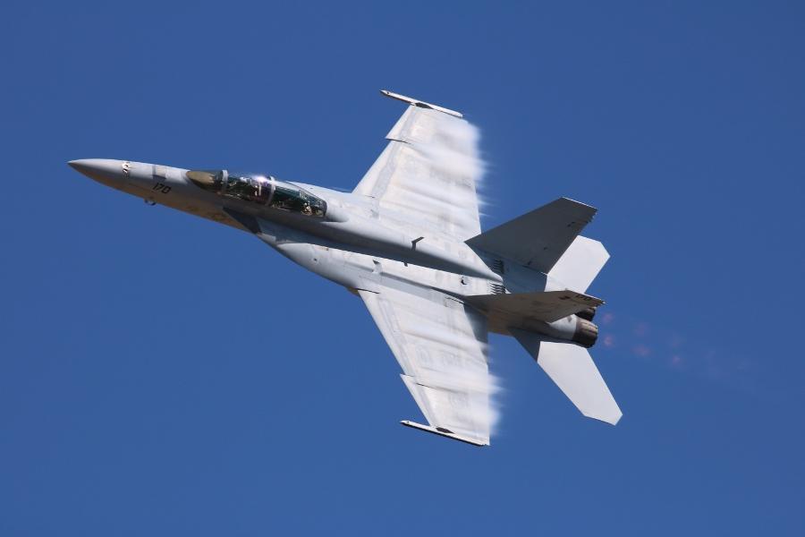 Oregon International Air Show 2016: US Navy Super Hornet West Coast TAC DEMO
