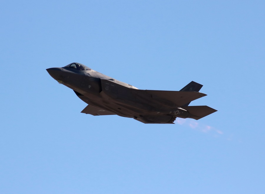 Aviation Nation 2016: USAF F-35A Lightning II – Welcome to the Fifth Generation