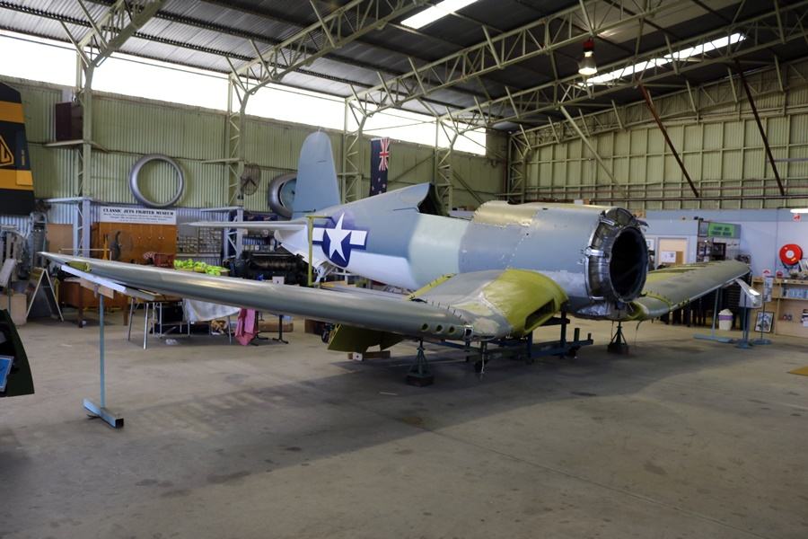 Classic Jets Fighter Museum – Vought F4U-1 Corsair Restoration