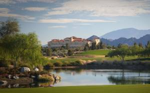 Classic Club's restaurant and clubhouse overlooks the course.