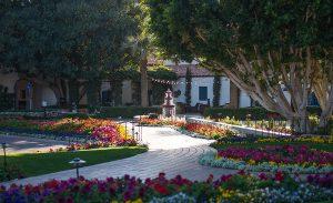 Fountains abound at La Quinta