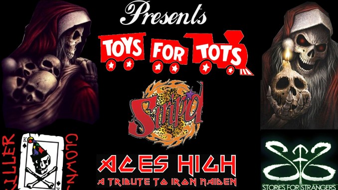 Toys For Tots Graphics : Lucky rocks toys for tots! aces high a tribute to iron maiden