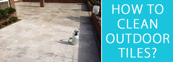 clean outdoor tiles ace steam cleaning