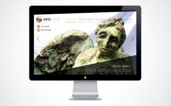Diseño web para ArteRueda