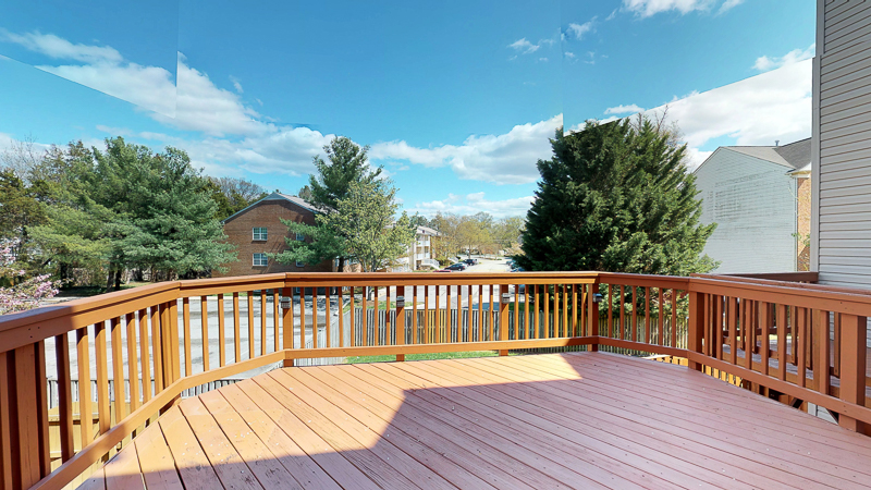 3761 Shannons Green Way, Alexandria, VA - Deck View