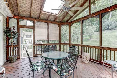 13525 Ryton Ridge Ln, Gainesville, VA - Closed in Patio