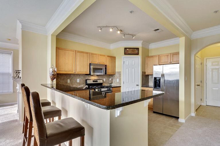 507 Sunset View  Ter. SE #203 ​Leesburg, VA - Breakfast Bar
