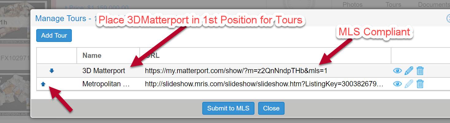 Matterort 3D for Mris