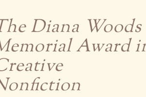 Diana Woods Memorial Award in Creative Nonfiction 2020