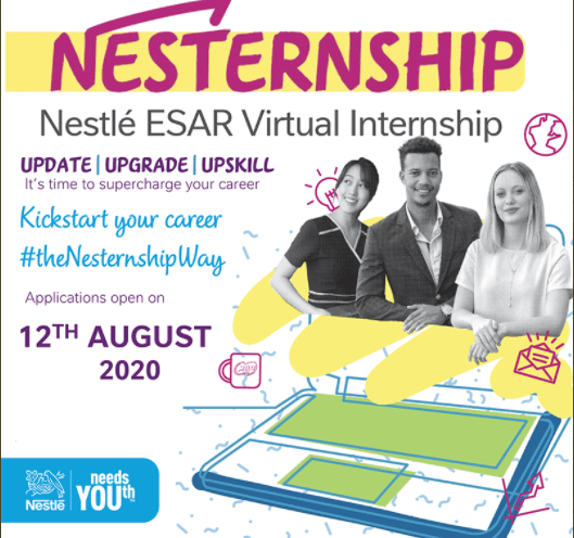 Nestle ESAR Virtual Internship Program