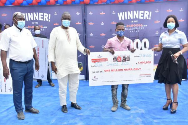 N11m for 11 winners: Dangote spreads joyful alerts in Ikorodu, Lagos