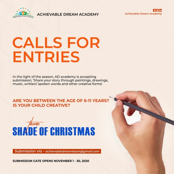Shade of Christmas Creative Contest