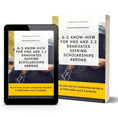 A-Z Know-How for HND and 2.2 Graduates Seeking Scholarships Abroad