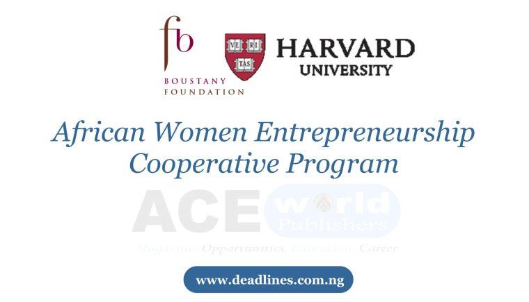 Harvard University Fully Funded MBA Scholarship 2021