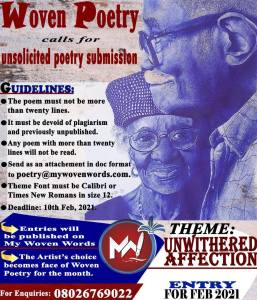 Calls for Submission: Woven Poetry Valentine Anthology