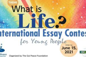 2021 GOI Peace Foundation International Essay Contest