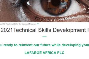 Lafarge Technical Skills Development Program 2021