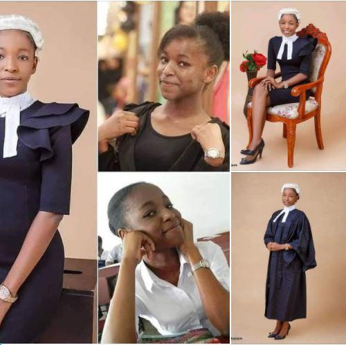 Meet Esther Chukwuemeka, Nigerian young lady called to bar at 20