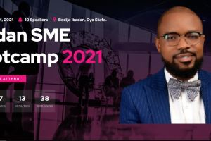 Ibadan SME Bootcamp 2021 with Piggyvest and UI-Reconnect Alumni group