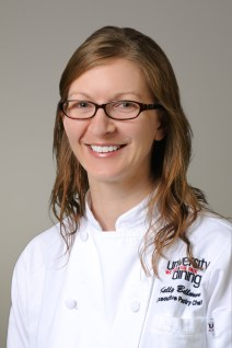 Kelly Bellmore, CEPC, of Raleigh, North Carolina, competing for Pastry Chef of the Year.