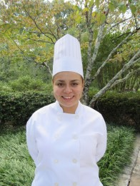 Ruth Solis, of Gainesville, Georgia, competing for Student Chef of the Year.