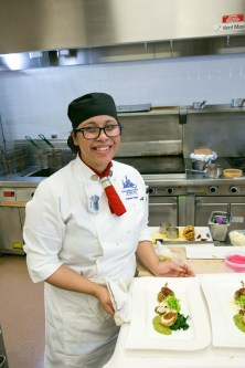 Denise Aguayo - ACF Northeast Region Student Chef of the Year