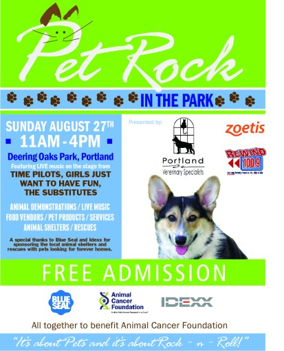 Pet Rock In The Park 2019 @ Deering Oaks Park, Portland, Maine