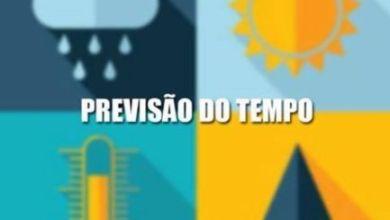 Photo of PREVISÃO DE PANCADAS DE CHUVA A PARTIR DO FIM DA TARDE