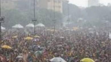 Photo of Carnaval 2020 será com muita chuva, diz previsão do tempo