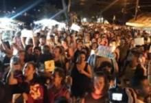 Photo of Mulheres protestam contra estupro na Vila do Abraão, em Ilha Grande