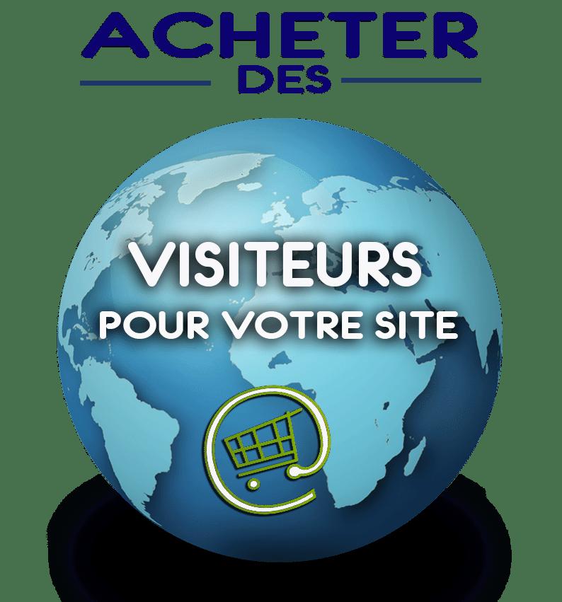 Achat visiteurs site web