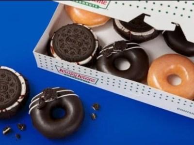 Oreo doughnut