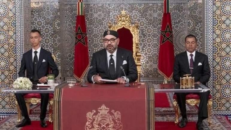جلالة الملك يوجه خطابا ساميا إلى شعبه الوفي