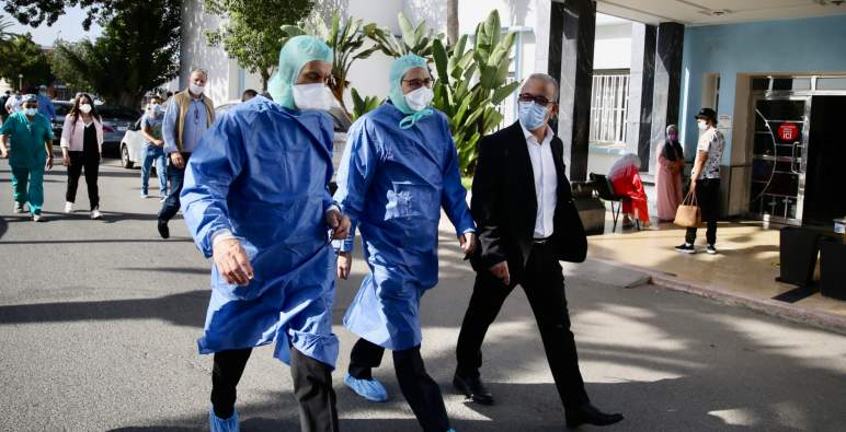 الدار البيضاء – سطات: مقاولات القطاع الخاص مدعوة للاشتغال عن بعد