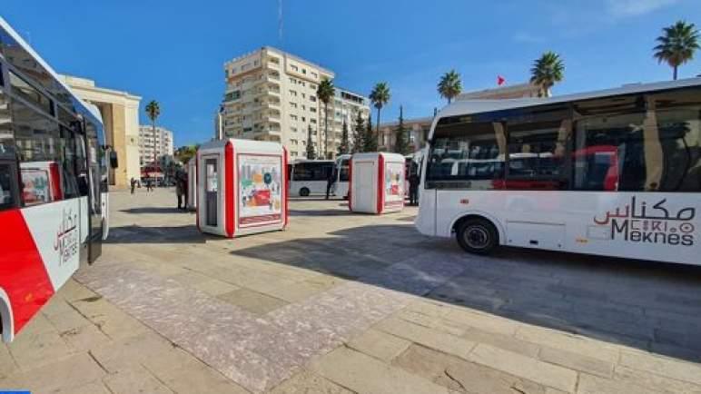 """""""سيتي باص"""" مكناس تواصل تجديد أسطول حافلاتها"""