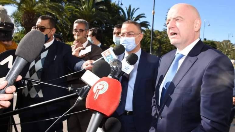 إينفانتينو: المغرب قاطرة لتطوير كرة القدم الإفريقية