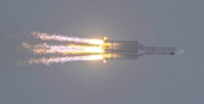 جزء كبير من الصاروخ الصيني تفكك فوق المحيط الهندي