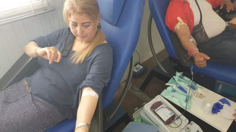 النقابة المغربية لمهنيي الفنون الدرامية فرع البيضاء تنظم حملة للتبرع بالدم (صور)