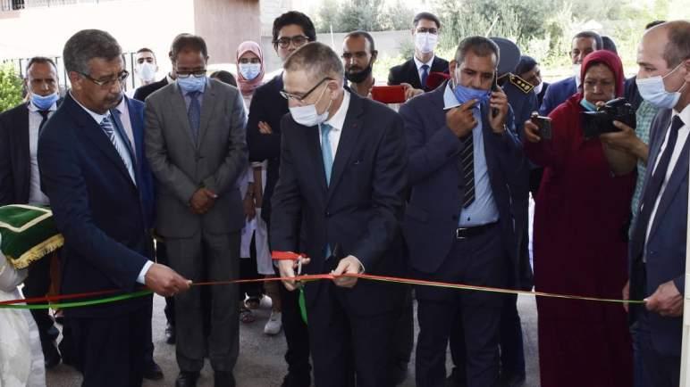 إطلاق مشاريع اجتماعية ببني ملال بمناسبة تخليد الذكرى 16 لانطلاق المبادرة الوطنية للتنمية البشرية